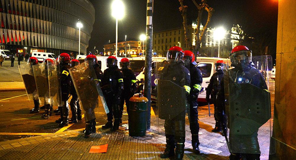 Ertzaintza, la policía nacional vasca