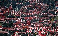 Los hinchas del Spartak