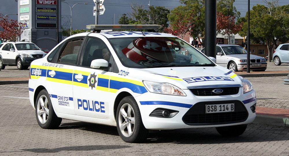La Policía de Sudáfrica (archivo)
