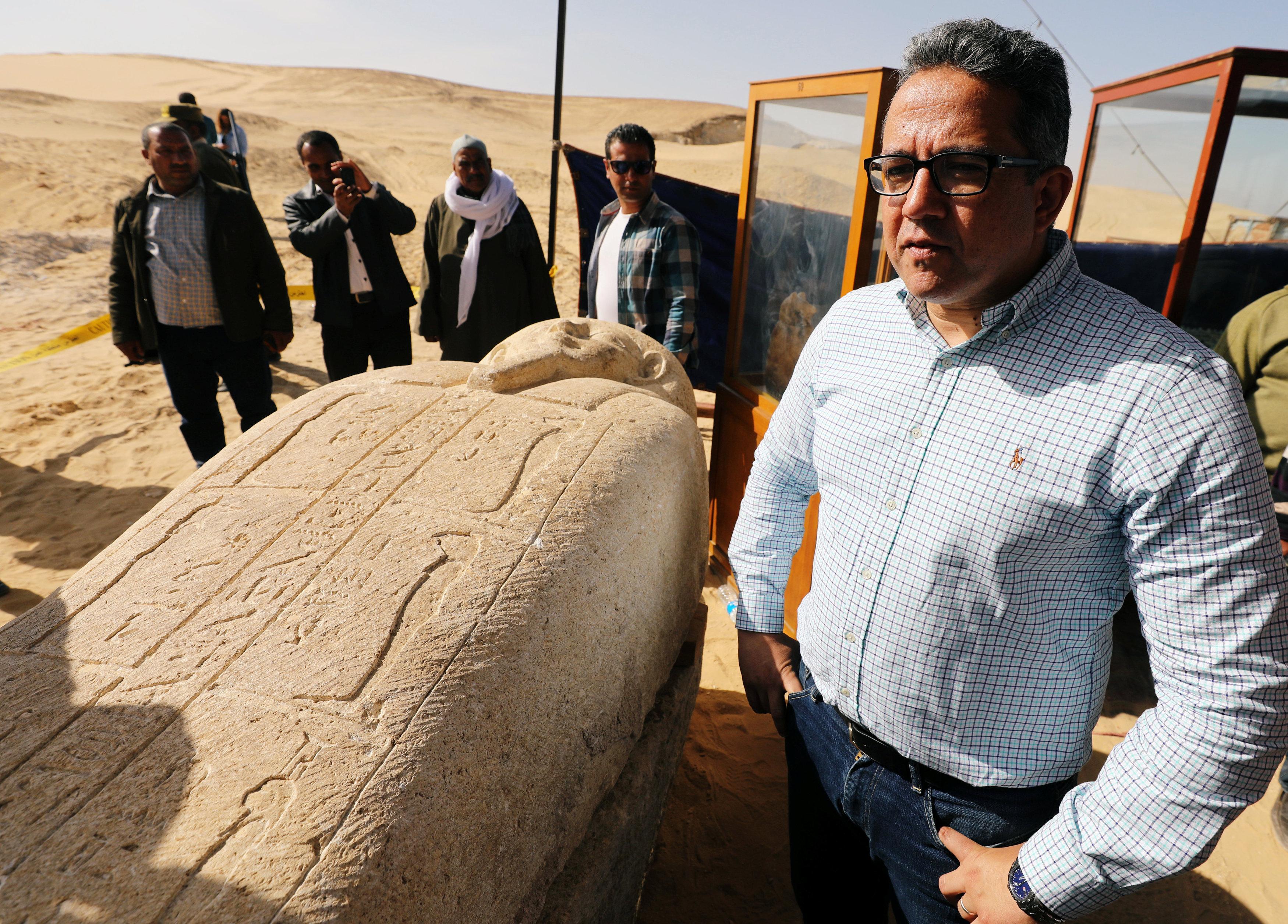 Khaled Anani, ministro de Antigüedades de Egipto