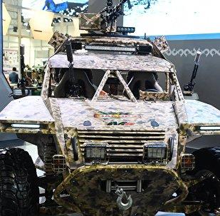 Buggy militar Chaborz M-6 de Chechenia