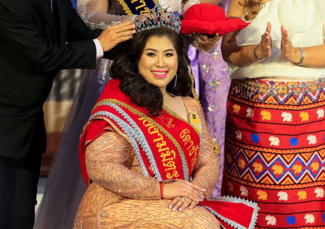 El extraordinario concurso Miss Jumbo: eligen a la mujer más bella de 'talla XL'