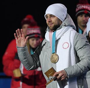 Alexandr Krushelitski, jugador de curling ruso