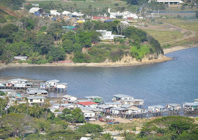 Puerto Moresby, la capital de Papúa Nueva Guinea