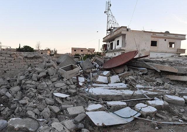 Situación en Guta Oriental, Damasco, Siria (archivo)