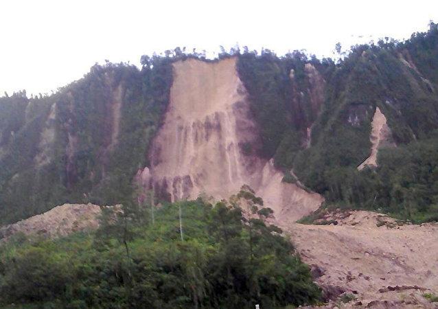 Consecuencias del terremoto en Papúa Nueva Guinea