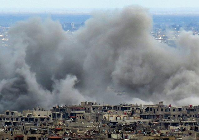 Situación en Guta Oriental después de los ataques de 27 de febrero