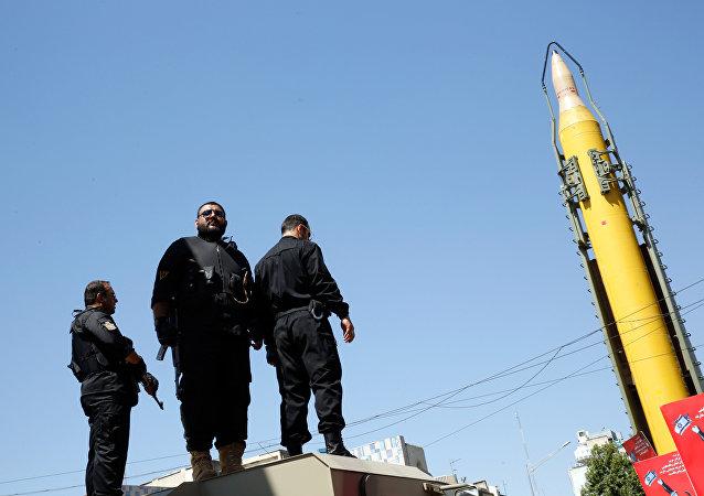 Un misil iraní Shahab-3 (archivo)