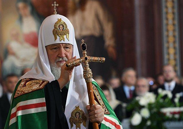 Kiril, patriarca de Moscú y toda Rusia (archivo)