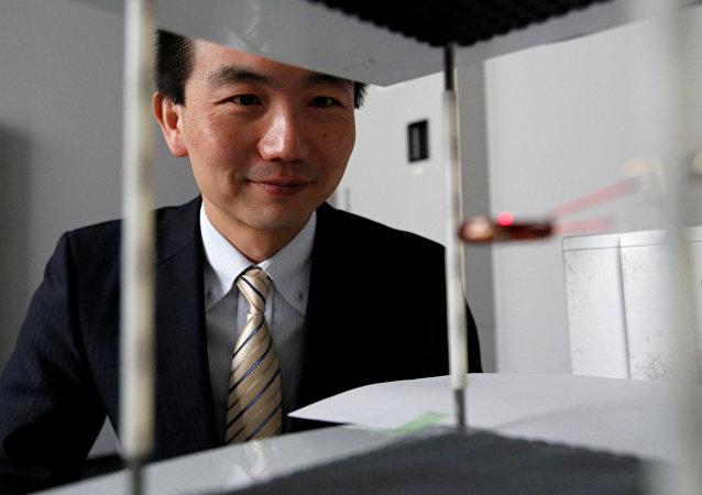Erato Kawahara Universal Information Network Project unveils the 'Luciola' in Tokyo