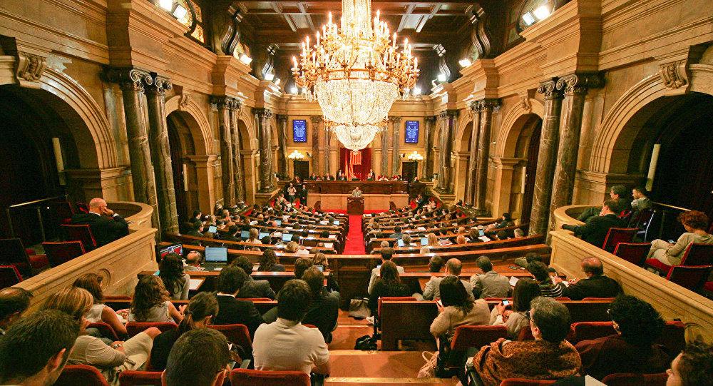 El Parlamento de Cataluña (archivo)