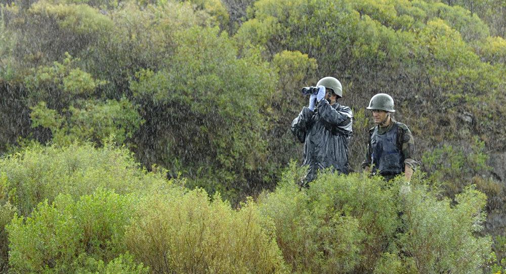 Soldados del Ejército uruguayo