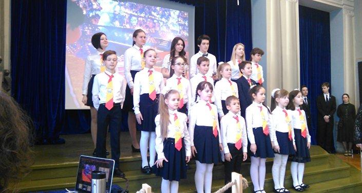 El coro 'Camerata'