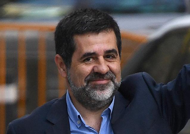 Jordi Sànchez, expresidente de la Asamblea Nacional Catalana