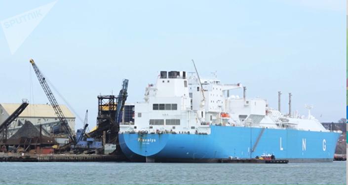 El segundo buque con gas natural licuado de Rusia llega a EEUU