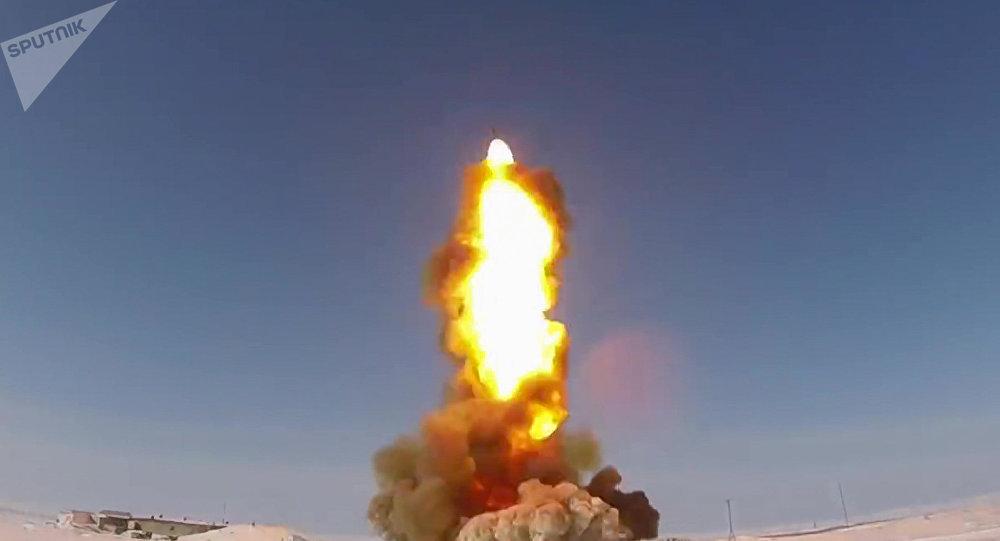 El lanzamiento de un misil (imagen referencial)