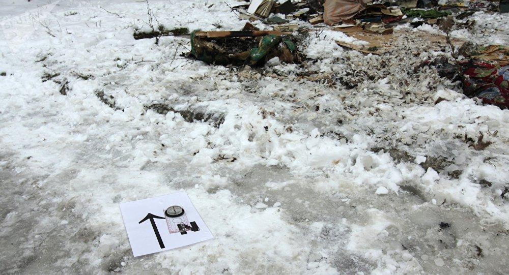 Las consecuencias de un ataque en Donetsk (archivo)