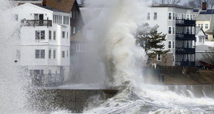 Tormenta invernal cancela cientos de vuelos en Nueva York