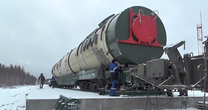 Sistema de misiles Sarmat (archivo)