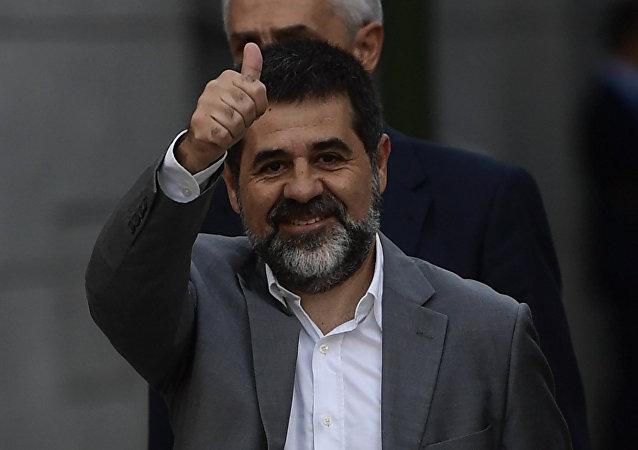 Jordi Sànchez, el expresidente de la Asamblea Nacional Catalana