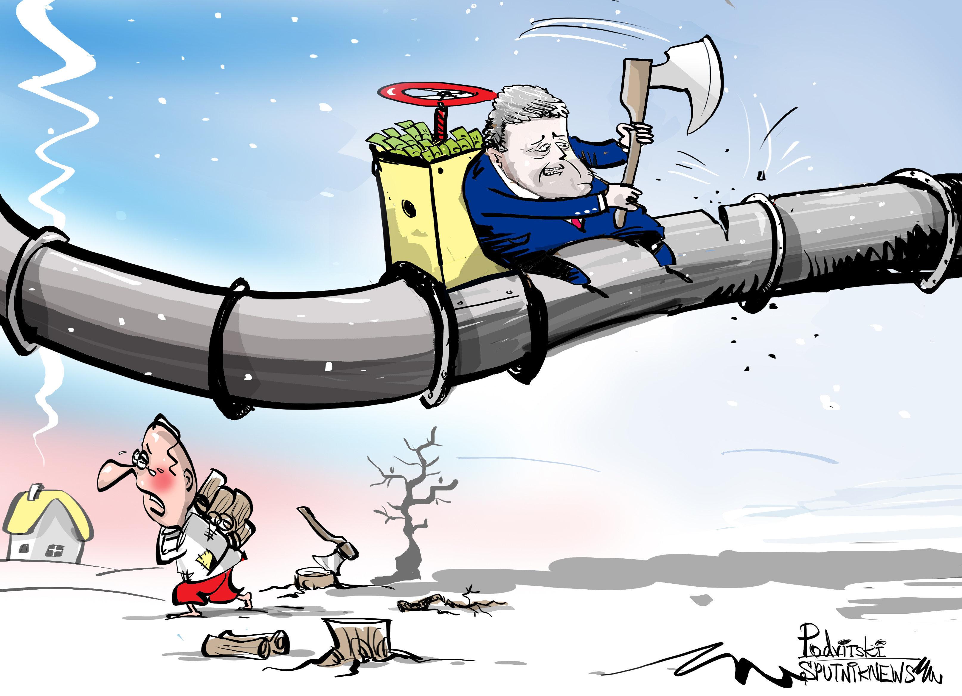 ¡Poroshenko, tengo frío! ¿Para qué congela el presidente ucraniano a su propio pueblo?