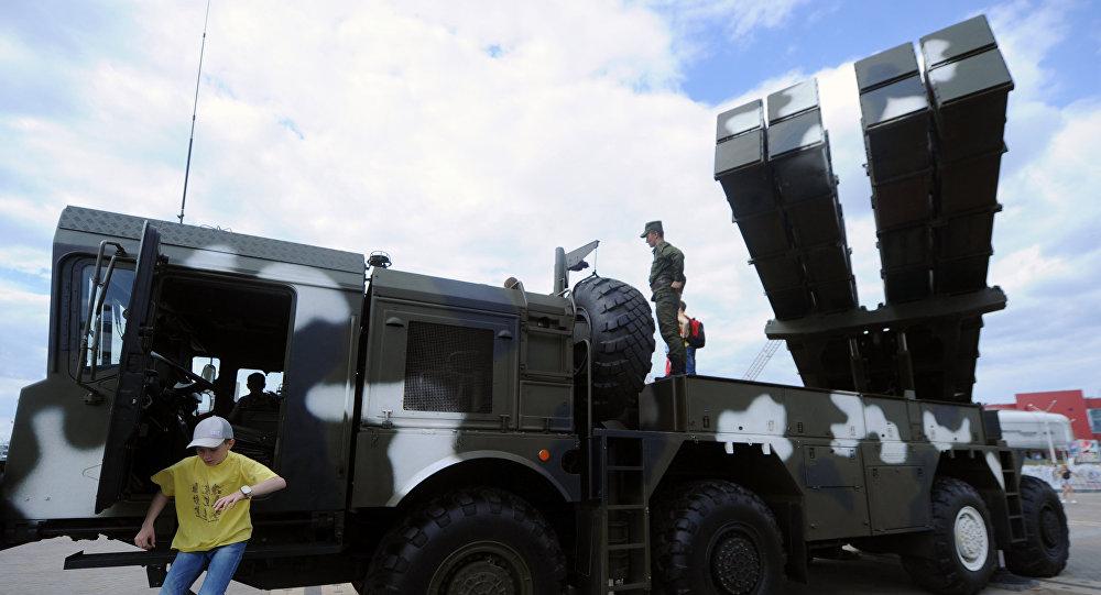 El sistema de lanzacohetes múltiples Polonez