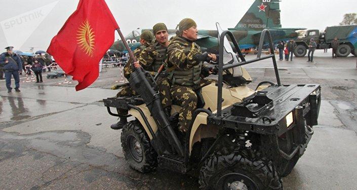 Una base militar rusa en Kirguistán (archivo)