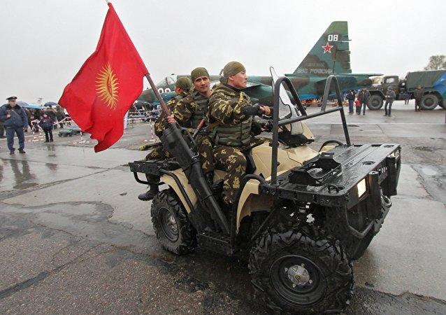 La base militar rusa en Kirguistán (archivo)