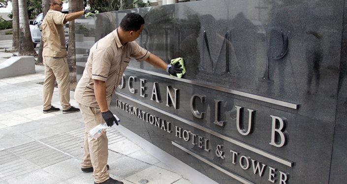 Retiran el nombre de Trump del hotel Ocean Club en la capital de Panamá