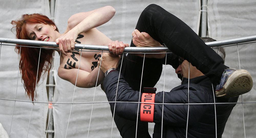 Una activista de Femen (archivo)