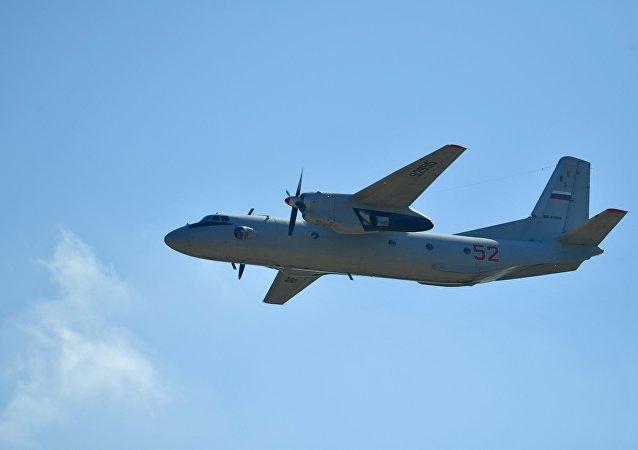 Avión militar ruso An-26
