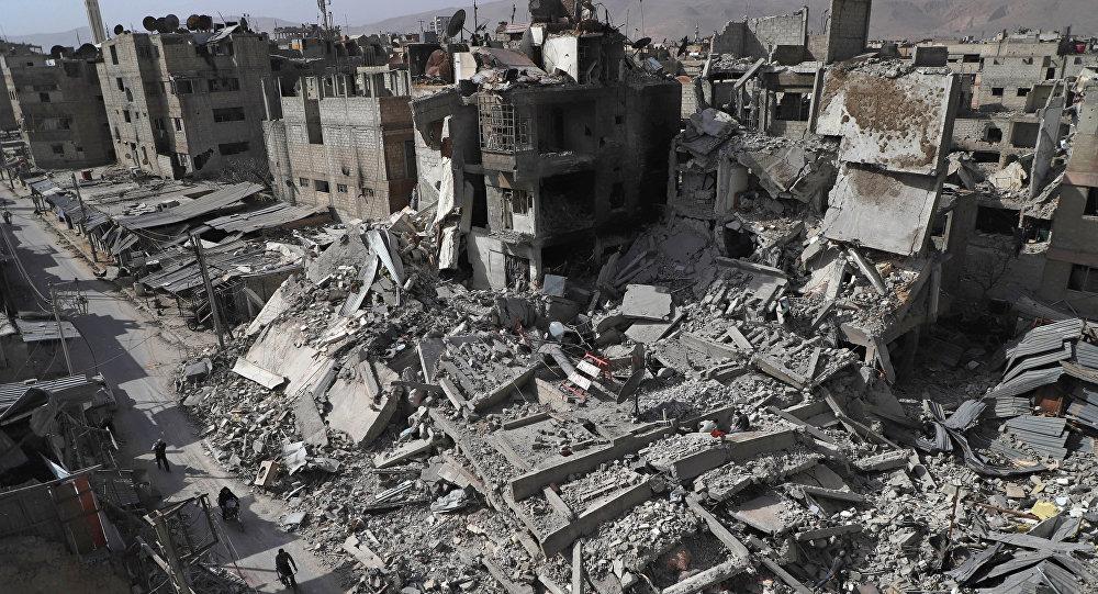 La desesperación cunde en Guta Oriental, donde bombardeos causan 19 muertos