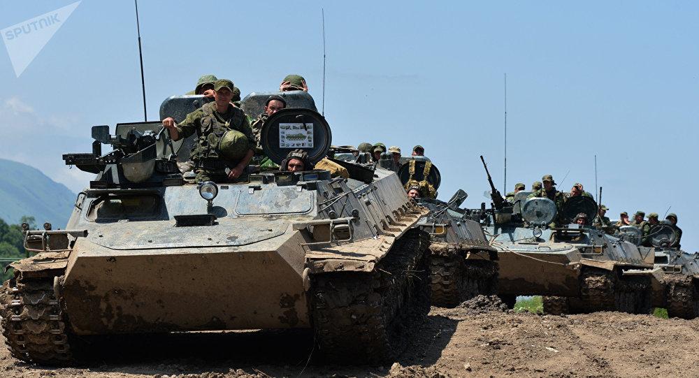 Maniobras del Ejército ruso (archivo)