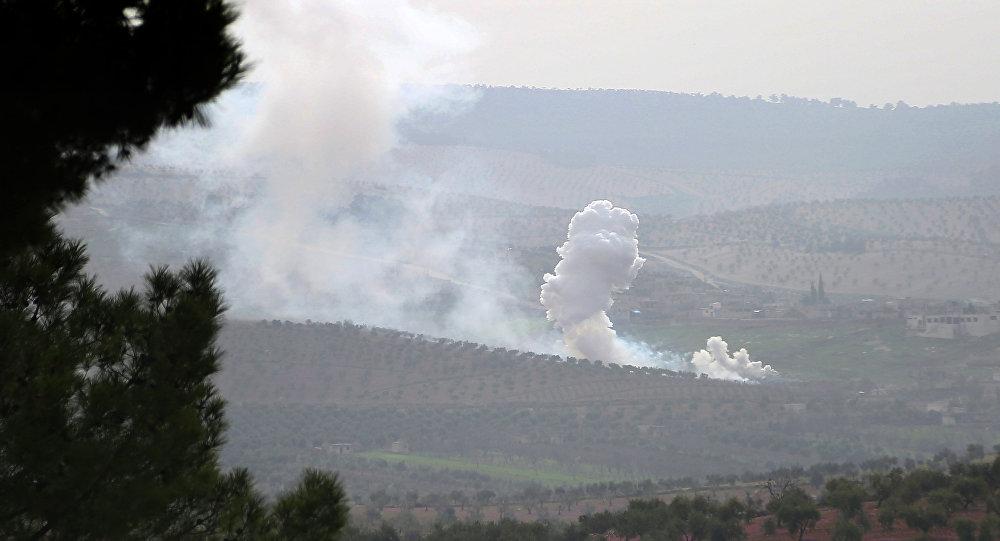 Situación en Afrín, Siria
