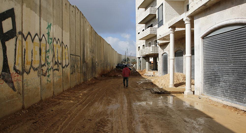 Muro entre Israel y Palestina