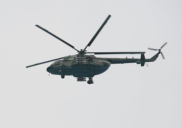 Un helicóptero Mi-8 (imagen referencial)
