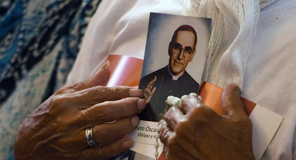 Un retrato del arzobispo de El Salvador, Óscar Arnulfo Romero