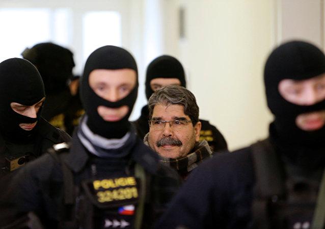 Saleh Muslim Muhamed, copresidente del kurdosirio Partido de la Unión Democrática (PYD)