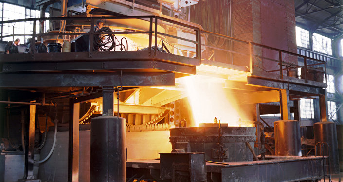 Producción de acero (imagen referencial)