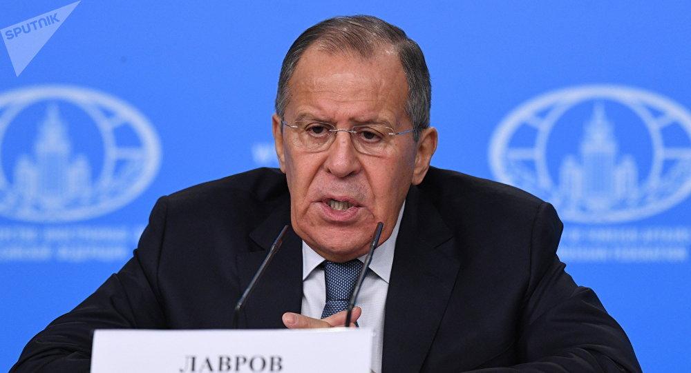 Serguéi Lavrov, el ministro de Asuntos Exteriores ruso (archivo)