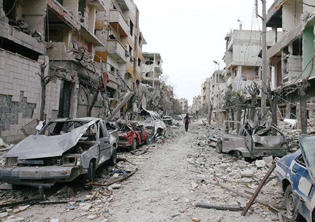 Situación en Guta Oriental, Damasco, Siria