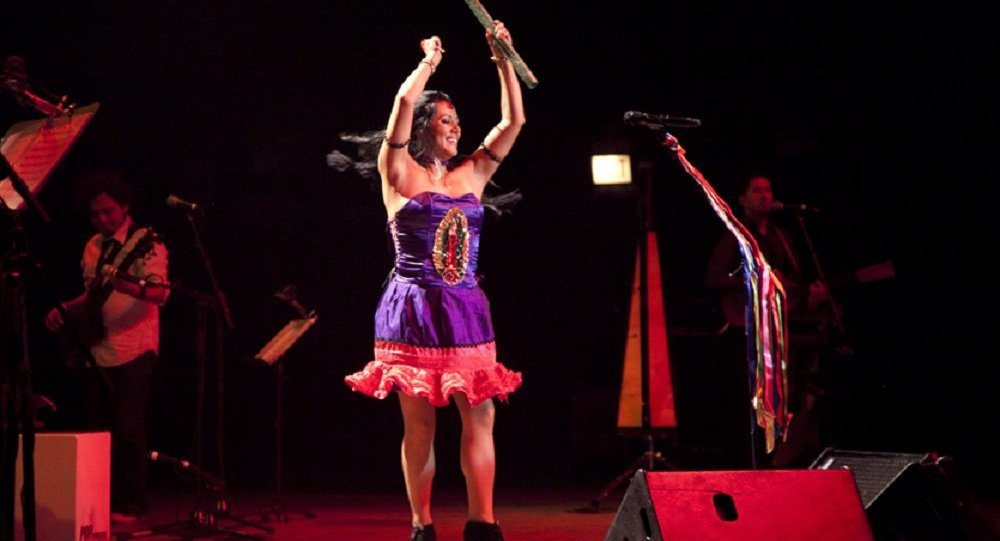 La cantautora mexicana Lila Downs