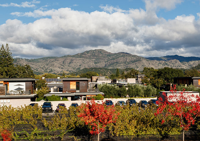 Vistas de Yountville, California, en EEUU (imagen ilustrativa)
