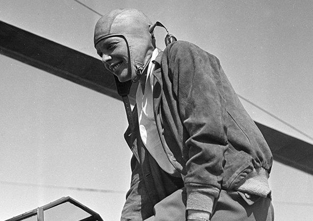 Amelia Earhart, legendaria aviadora estadounidense