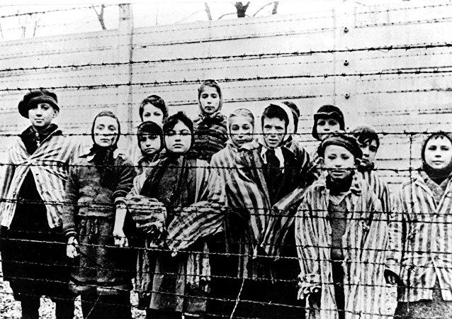Auschwitz tras la liberación por el Ejército soviético en enero de 1945