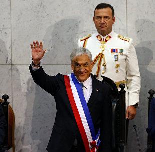 Sebastián Piñera asume la presidencia de Chile
