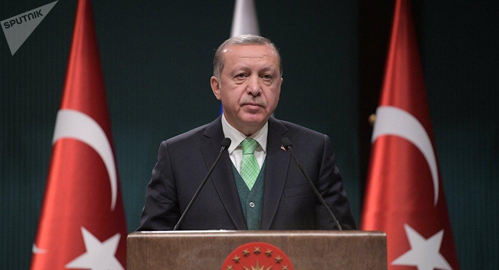 El presidente turco Recep Tayyip Erdogan (archivo)