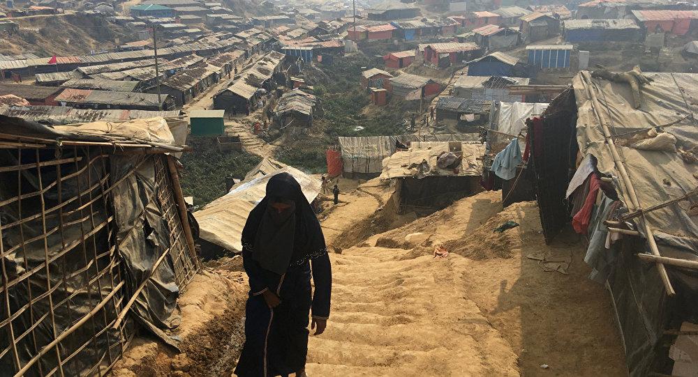 Un campo para los refugiados rohinyás