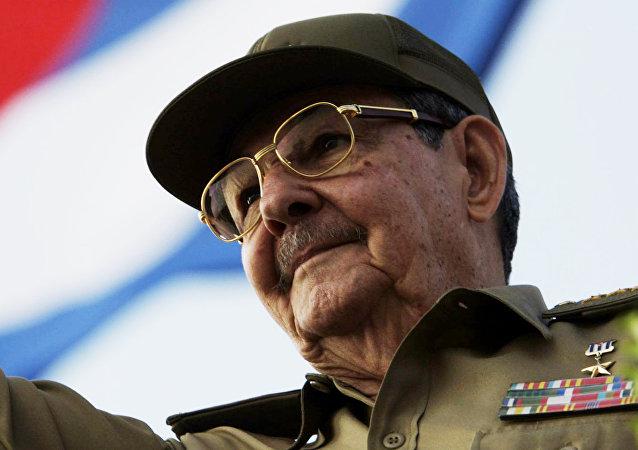Raúl Castro, primer secretario del Comité Central del Partido Comunista de Cuba (archivo)