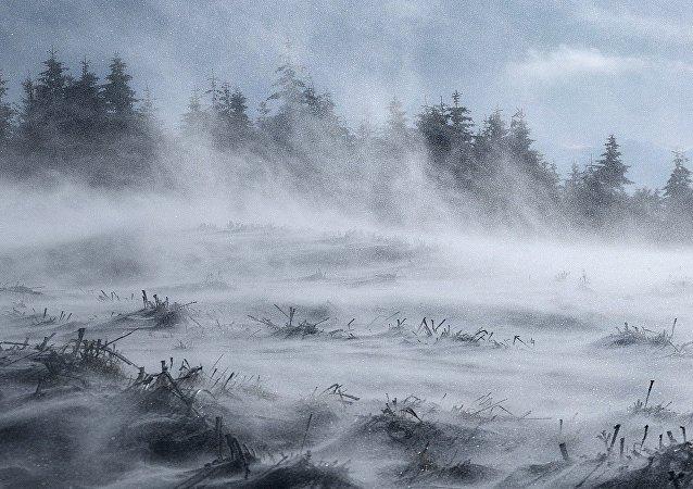 Territorios cubiertos de nieve (imagen referencial)